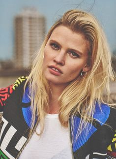 Lara Stone for Russh Magazine October 2015 photographed by Emma Tempest