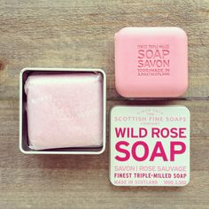 Wild Rose Soap in a Tin