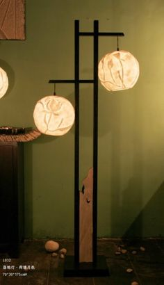 Asian Floor Lamps: Asian Floor Lamp Inseparable Thoughts,Lighting