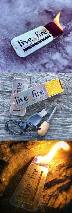Live Fire Original - Emergency Reusable Fire Starter Survival Gear #survivalgear