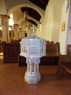 St. Joseph's Baptismal Font   St. Joseph Catholic Church www…   Flickr