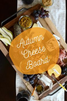 With the weather getting cooler, it's nice to get together in someone's home and have a wine and cheese night. #cheese #cheeseboard Super Bowl Sunday, Cheese Appetizers, Tasty, Yummy Food, Thanksgiving Crafts, Autumn Theme, Finger Foods, Side Dishes, Weather