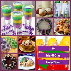 10 Mardi Gras Party Ideas