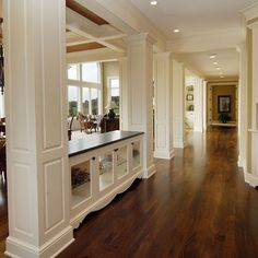 Spaces Living Dining Support Beam Post Design, Pictures, Remodel, Decor and Ideas - page 8