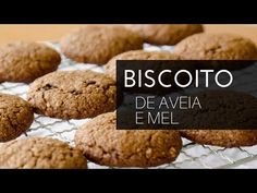 Biscoito de Aveia e Mel caseiro | A Casa Encantada - YouTube Sweet Recipes, Healthy Recipes, Super Cookies, Whoopie Pies, Light Recipes, Easy Cooking, Delicious Desserts, Easy Meals, Food And Drink