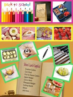 Here are some school lunch ideas! visit my facebook page for more great recipes www.facebook.com/chefNthompson