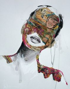 mixed media artists | Sandra Chevrier's Mixed Media Art | Trendland: Design Blog & Trend ...