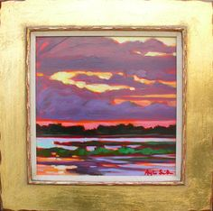 """Slivers of Light""  Betty Anglin Smith - Anglin Smith Fine Art 12 x 12    $2400"