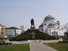 Saint Sava Temple and Black George, Belgrade