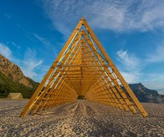 Designed by Rintala Eggertsson Architects for the Norwegian cultural festival SALT
