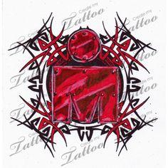 Marketplace Tattoo tribal ironman4 #5137 | CreateMyTattoo.com