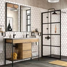 A few things to update you on! If you missed my post last night, go take a . Upstairs Bathrooms, Downstairs Bathroom, Bathroom Renos, Small Bathroom, Dyi Bathroom, Master Bathroom, Bad Inspiration, Bathroom Inspiration, Modern Bathroom Design