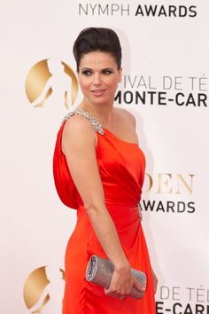 Lana Parrilla at the Monte Carlo TV festival.