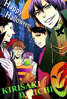 Kuroko no Basket (黒子のバスケ) - Happy Halloween from Kirisaki Daiichi High!