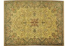 "Agra Carpet, 12'3"" x 8'10"" | Fore! | One Kings Lane"