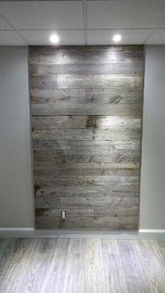 Du bois de grange dans la salle de bain a vous tente for Miroir bois de grange