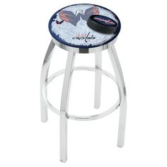 "Holland Bar Stool NHL 25"" Swivel Bar Stool with Cushion NHL Team:"