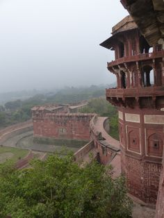 The Red Fort - Agra, India
