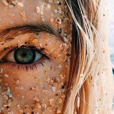 Ojos con arena
