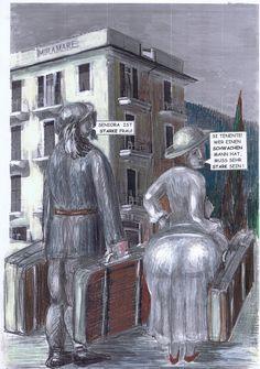 """Der hilfsbereite Bersaglieri Angelo Ravagli bekommt von Frieda schon bald deutliche """"Angebote""""."""