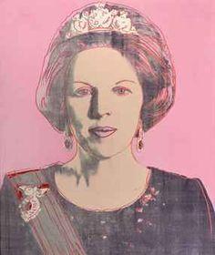Portret : en face.  Afbeelding van een hoofd En Face: Gezicht, recht van voren gezien. (Andy Warhol)