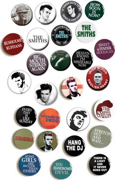 THE SMITHS PATCH Embroidered Iron On Band Badge MORRISSEY MARR ROURKE JOYCE NEW
