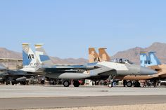 Aircraft of Nellis AFB and RED FLAG | Airwingspotter.com