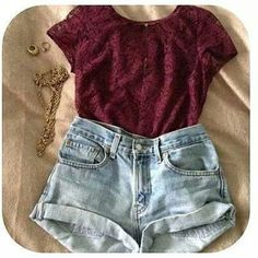 <3 Hipster Outfits, Casual Outfits, Casual Wear, Cute Summer Outfits, Spring Outfits, Cute Outfits, Casual Summer, Summer Clothes, Outfits 2016