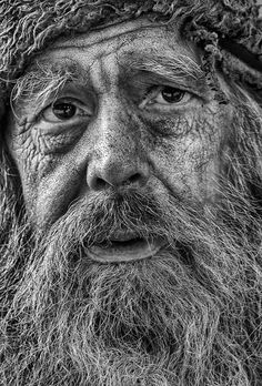 Photo Jim by Ian Ward on Pencil Portrait, Portrait Art, Black And White Portraits, Black And White Photography, Art Visage, Old Faces, Face Photography, Foto Art, Interesting Faces