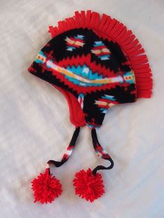 Mohawk Hat by Powwow Baby shop on Etsy. http://www.etsy.com/people/jessicametcalfe