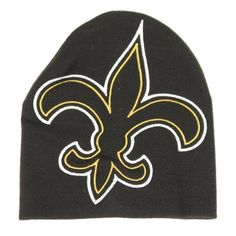 New Orleans Saints Big Embroidered Logo Knit Beanie by Reebok. $11.95. One size fits most ages 13+. Oversized embroidered logo. Great for any outdoor, cold weather activity. Officially licensed NFL headwear. Show your team spirit with this oversized EMBROIDERED Saints logo -- it's a great hat for the super fan!