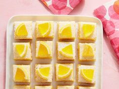 Recipe of the Day: The Most-Lemony Lemon Bar of All Time Prepare for some serious pucker. Our brand-new lemon bars are no joke the most lemony you have ever experienced — so lemony they take 8 lemons to make. We put lemon zest in the crust, upped the pucker in the filling and even put lemon candy on top. It's the bar for the ultimate lemon lover.