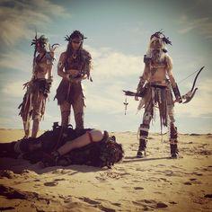 Malar Scouts! #wasteland #warriors #scavengerswebseries #amazon #archer #knives #bondage #madmax