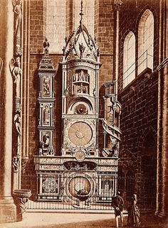 Great clock of Strasbourg Cathedral