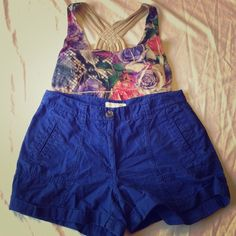 ‼️CLOSET CLOSING‼️Forever 21 royal blue shorts Great condition! Worn a handful of times. Forever 21 Shorts