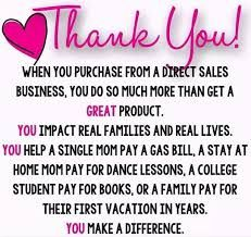 Thank You For Supporting My Avon Direct Sales Business Pure Romance Consultant, Beauty Consultant, Paparazzi Consultant, Independent Consultant, Mary Kay, Arbonne Business, Consultant Business, Real Family, Facebook Party