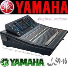 yamaha ls9 16 channel audio mixer - Google Search