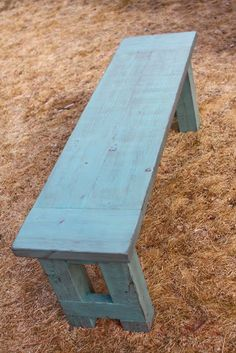 build a bench for kitchen table. Would be a great way to use the 4x4 scraps we have.