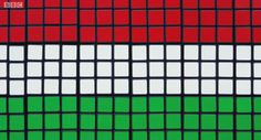 Eurovision Song Contest 2014 Hungary flag art