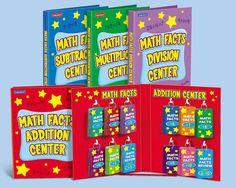 Math Facts Practice Centers - Complete Set