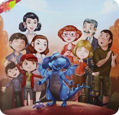 Azuro le dragon bleu par Ly Lan