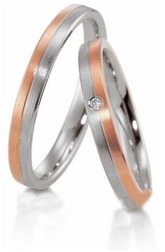 Verighete aur alb si aur roz MDV333 #verighete #verighete3mm #verigheteaur #verigheteauraplicatie #magazinuldeverighete Aur, 50 Euro, Couple Rings, Wedding Rings, Engagement Rings, Model, Jewelry, Crystal, Diamond