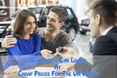 Cheap car loans for the UK people allow them to borrow sufficient funds to purchase a new car or repairing an existing one. Guaranteed Car Loan is provided by Easy Loans UK, a leading money lending hub, at competitive prices. Get more details at: http://www.easyloansuk.uk/car-loans/