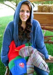 Wallaby Hoodie Knitting Pattern : 1000+ images about Knit on Pinterest Dishcloth, Knitting ...