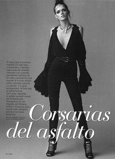 Model Isabella Andersson For Telva Magazine by Esperanza Moya