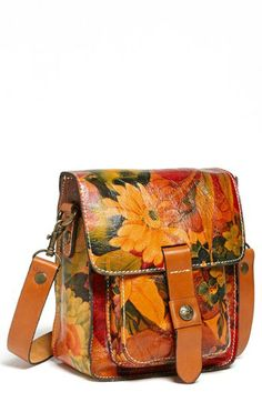 Patricia Nash 'Lari' Leather Crossbody Bag available at #Nordstrom