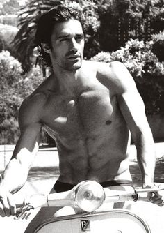 """Jane Porter says: """"Gilles Marini was the inspiration behind my darkly handsome, and very sexual, Sicilian hero, Vittorio d'Severano in my August '11 HP, A Dark Sicilian Secret"""" Oh he is definitely very dark, handsome and sexy."""