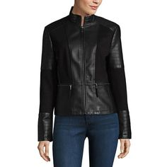 959e2163385 Women s water-resistant down coat. See more. FREE SHIPPING AVAILABLE! Buy  a.n.a Midweight Motorcycle Jacket at JCPenney.com today and enjoy