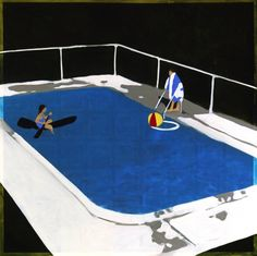 pool paintings - Google Search