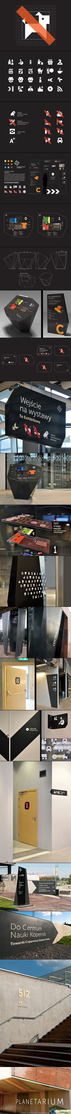 Copernicus Science Center - Visual information system